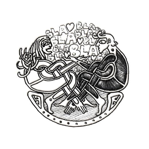 Attachiante, illustration d'Éric Lavédrine